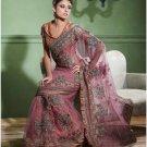 Indian Bollywood Designer Embroidered Bridal Wedding Saree Sari - X 812