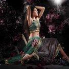 Indian / Pakistani Designer Wedding Bridal Light Work Saree Sari - X 1326