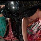 Indian / Pakistani Designer Wedding Bridal Light Work Saree Sari - X 1309