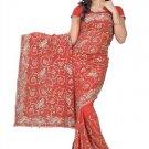 Indian Bollywood Designer Embroidered Saree Sari - Tu123C