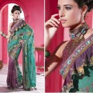 Indian Bollywood Designer Embroidered Bridal Wedding Saree Sari - X 824