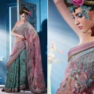 Indian Bollywood Designer Embroidered Bridal Wedding Saree Sari - X 808