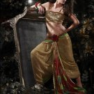 Indian / Pakistani Designer Wedding Bridal Light Work Saree Sari - X 1327