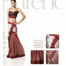 Sari Saree Viscose Wedding Fancy Embroidered With Unstitch Blouse - RTN 29 N