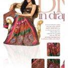 Sari Saree Viscose Wedding Fancy Embroidered With Unstitch Blouse - RTN 30 N