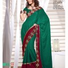 Sari Sarees Jacquard Fancy Embroidery Sari With Unstitch Blouse - RTN 38 N