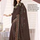 Sari Sarees Jacquard Fancy Embroidery Sari With Unstitch Blouse - RTN 36 N