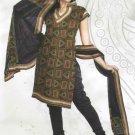 Faux Cotton Designer Printed Shalwar & Salwar Kameez With Dupatta - X 7067 N