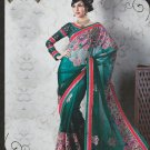 Bridal Net Exclusive Designer Embroidery Sari With Blouse - X 930 N