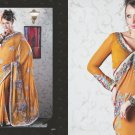 Bridal Faux Georgette Exclusive Designer Embroidery Sari With Blouse - X 902 N