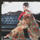 Bridal Net Exclusive Designer Embroidery Sari With Blouse - X 926 N