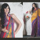 Bridal Faux Georgette Exclusive Designer Embroidery Sari With Blouse - X 918 N