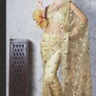 Bridal Net Exclusive Designer Embroidery Sari With Blouse - X 920 N