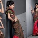 Sari Saree Casual Viscose Bridal Embroidery With Unstitch Blouse - RTN 283 N