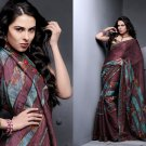 Sari Saree Casual Viscose Bridal Embroidery With Unstitch Blouse - RTN 284 N