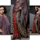 Sari Saree Casual Viscose Bridal Embroidery With Unstitch Blouse - RTN 285 N