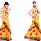 Sari Saree Casual Viscose Bridal Embroidery With Unstitch Blouse - RTN 277 N