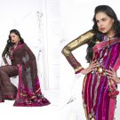 Sari Saree Casual Viscose Bridal Embroidery With Unstitch Blouse - RTN 280 N