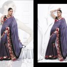 Sari Saree Casual Viscose Bridal Embroidery With Unstitch Blouse - RTN 278 N