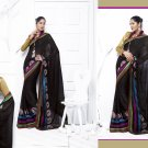 Sari Saree Casual Viscose Bridal Embroidery With Unstitch Blouse - RTN 279 N
