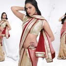 Sari Saree Casual Viscose Bridal Embroidery With Unstitch Blouse - RTN 281 N