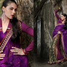 Sari Saree Casual Viscose Bridal Embroidery With Unstitch Blouse - RTN 272 N