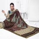 Sari Saree Casual Viscose Bridal Embroidery With Unstitch Blouse - RTN 276 N