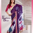 Sari & Sarees Viscose Fancy Embroidered Sarees With Unstitched Blouse - RTN 42 N