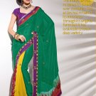 Sari & Sarees Jaipuri Fancy Embroidered Sarees With Unstitched Blouse - RTN 47 N