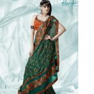 Bollywood Indian Designer Embroidered  Partwear Sarees Sari - HF 1001A