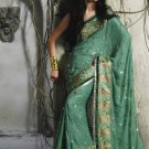 Bollywood Indian Saree Designer Bridal Wedding Sari Partywear - X 4010B