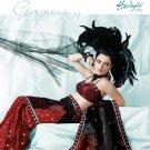 Bollywood Indian Designer Embroidered  Partwear Sarees Sari - HF 1009 B