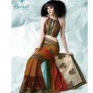 Bollywood Indian Designer Embroidered  Partwear Sarees Sari - HF 1006B
