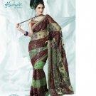 Bollywood Indian Designer Embroidered  Partwear Sarees Sari - HF 1005A