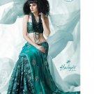 Bollywood Indian Designer Embroidered  Partwear Sarees Sari - HF 1003A