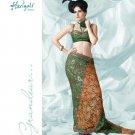 Bollywood Indian Designer Embroidered  Partwear Sarees Sari - HF 1002B