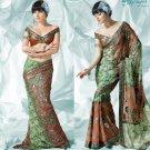 Bollywood Indian Designer Embroidered  Partwear Sarees Sari - HF 1002A