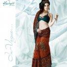 Bollywood Indian Designer Embroidered  Partwear Sarees Sari - HF 1001B