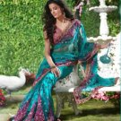 Bollywood Designer Partywear Bridal Wedding Embroidered Sarees Sari - RS 3204