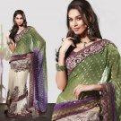 Bollywood Designer Partywear Bridal Wedding Embroidered Sarees Sari - RS 1902