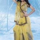 Bollywood Indian Saree Designer Bridal Wedding Sari Partywear - X 4019B
