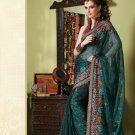Bollywood Indian Designer Embroidered Wedding Bridal Saree Sari - HF - 7025