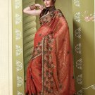 Bollywood Indian Designer Embroidered Wedding Bridal Saree Sari - HF - 7020