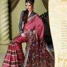 Bollywood Indian Designer Embroidered Wedding Bridal Saree Sari - HF - 7013