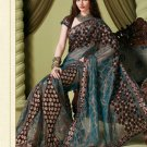 Bollywood Indian Designer Embroidered Wedding Bridal Saree Sari - HF - 7010