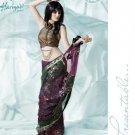 Bollywood Indian Designer Embroidered  Partwear Sarees Sari - HF 1012 B