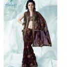 Bollywood Indian Designer Embroidered  Partwear Sarees Sari - HF 1012 A