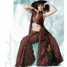 Bollywood Indian Designer Embroidered  Partwear Sarees Sari - HF 1011 B