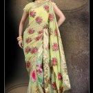 Bollywood Designer Indian Embroidered Wedding Bridal Saree Sari - CH 1011