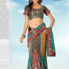 Bollywood Designer Sari Wedding Embroidered Saree - Ls Kanishka